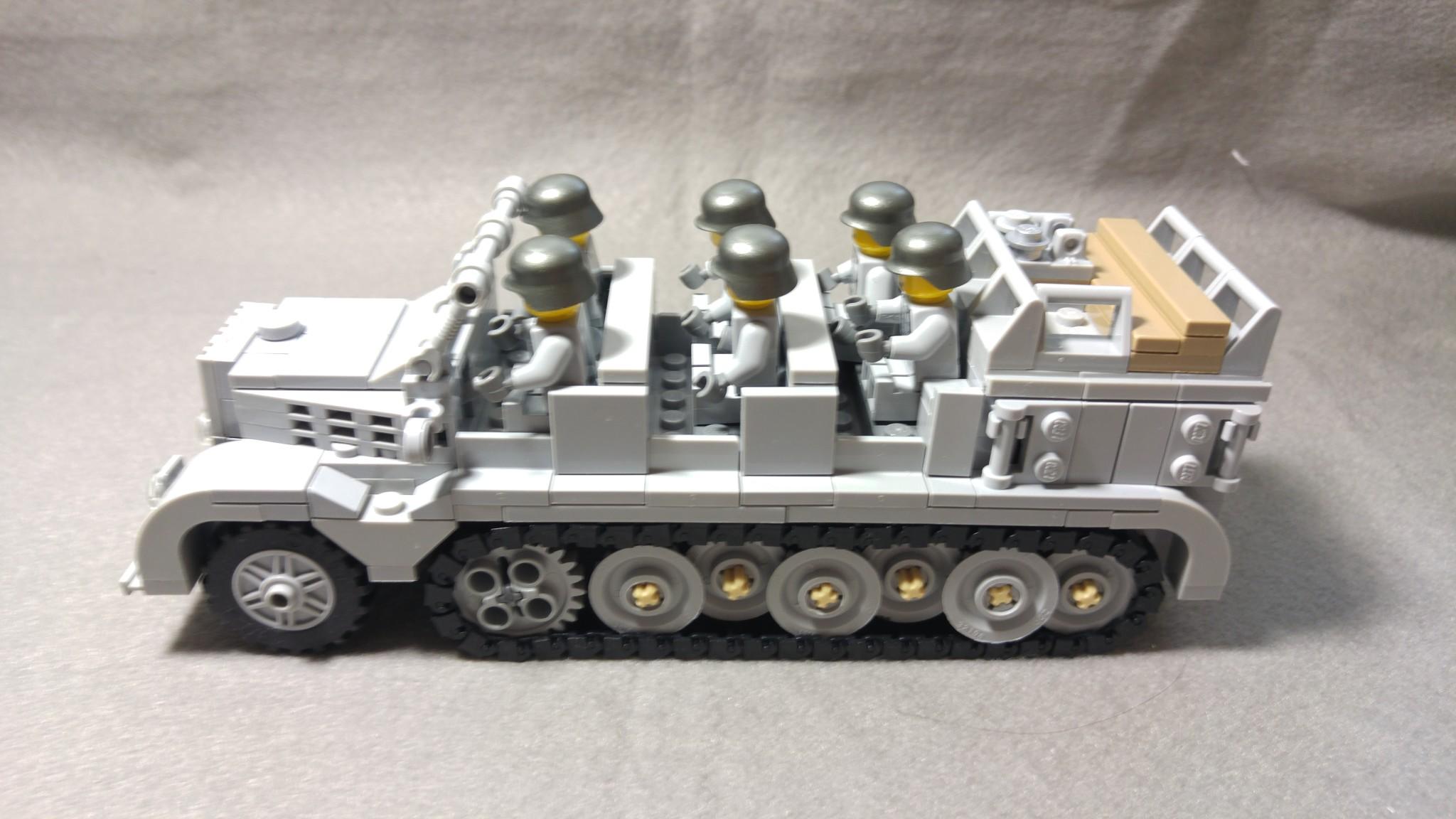 "Enlightone: BrickMania SdKfz 7 & Flak 36 ""88"" BM299"